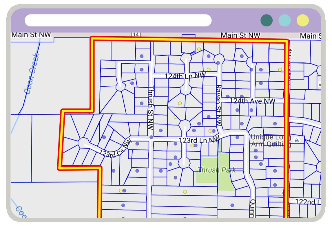 GuideK12 Advisor Map
