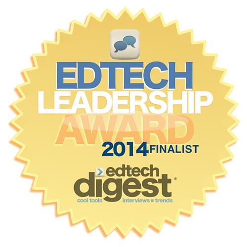 GuideK12 EdTech Leadership Award 2014 Finalist