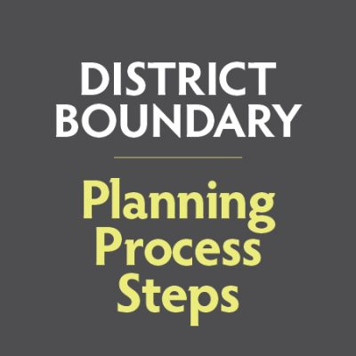 GK12 - District Boundary Planning Process Steps