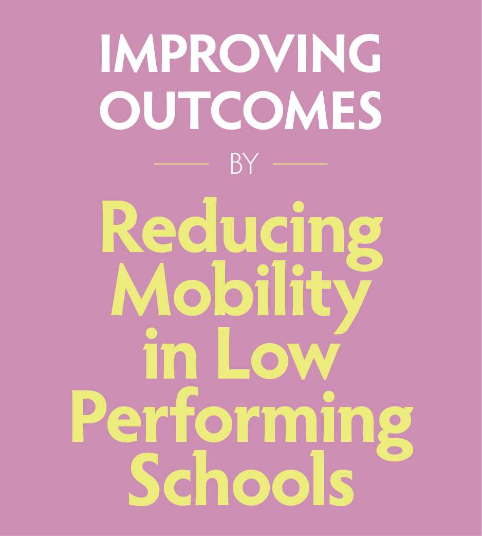 GK12 - Reducing Mobility in Low Performing Schools